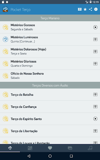 Pocket Teru00e7o - Teru00e7os, Liturgia, Orau00e7u00f5es, Mu00fasicas apktram screenshots 9