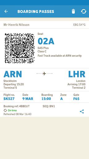 SAS – Scandinavian Airlines  screenshots 2