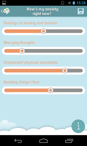 self-help anxiety management screenshot 2