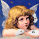 Angel Paint - Paint by Number, Color by Number