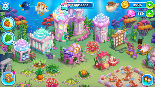 Aquarium Farm -fish town, Mermaid love story shark screenshots 24