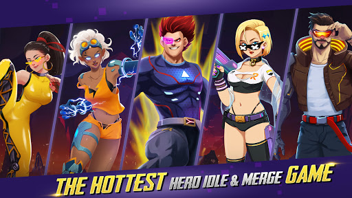Idle Hero Z - Summon & Merge Cyberpunk 1.0.2 screenshots 9