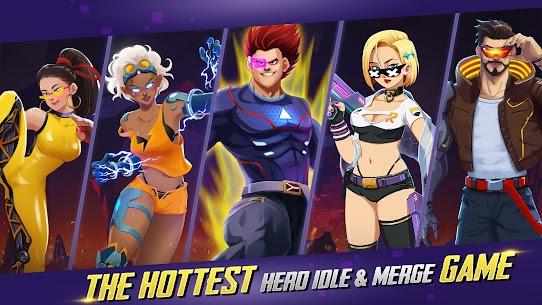 Idle Hero Z Mod Apk- Summon & Merge Cyberpunk (Unlimited Gold) 9