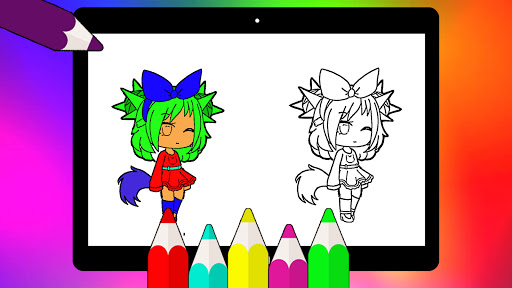 Coloring Pages for Gacha Club 2021 screenshots 9