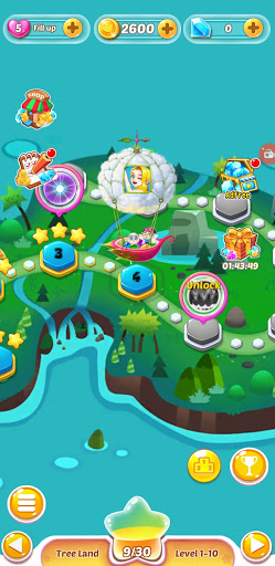 Balloon Fly Bubble Pop apkslow screenshots 17