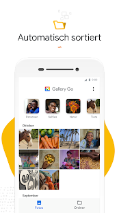 Gallery Go von Google Fotos Screenshot