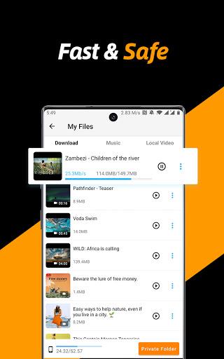 Video Downloader, Private File Downloader & Saver apktram screenshots 17