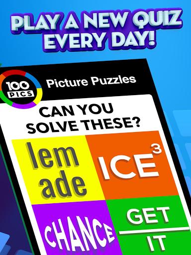 100 PICS Quiz - Guess Trivia, Logo & Picture Games Apkfinish screenshots 13