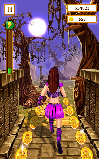 Scary Temple Final Run Lost Princess Running Game 4.2 screenshots 4