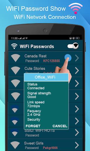 WiFi Password key Show - WiFi Analyzer  screenshots 7