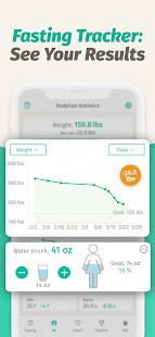 BodyFast Intermittent Fasting Tracker - Diet Coach 3.7.12 Screenshots 4