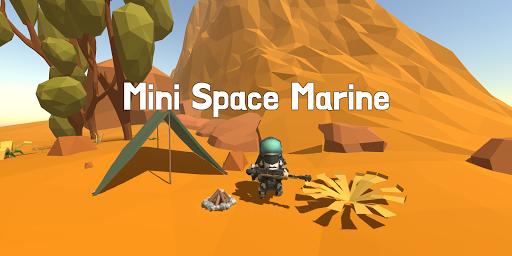 Mini Space Marine(Semi Idle RPG) 3.73 screenshots 1