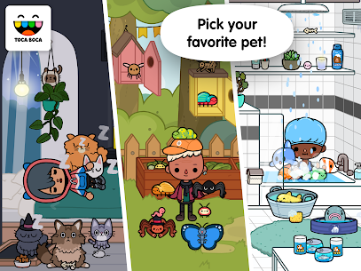 Toca Life: Pets  For Pc – (Free Download On Windows 7/8/10/mac) 2