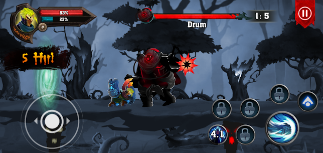 Dota King of Shadow : Knight Fight MOD (Unlimited Money/Gems) 1