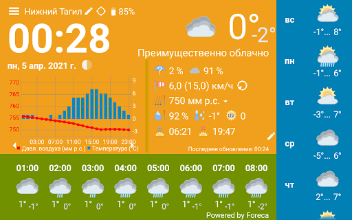 WhatWeather - Weather Station free without ads  screenshots 4