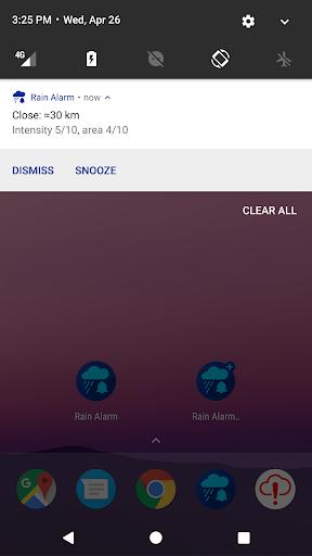 Rain Alarm screenshots 2