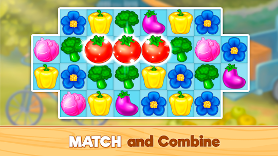 Granny's Farm: Free Match 3 Game 2