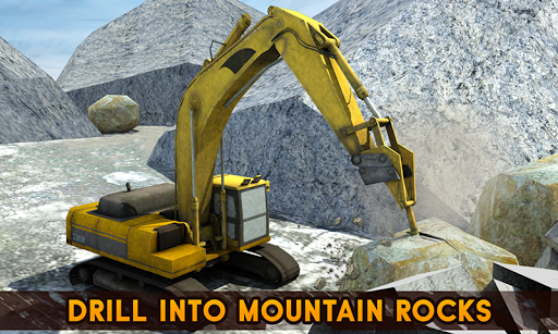 Hill Excavator Mining Truck Construction Simulator screenshots 2