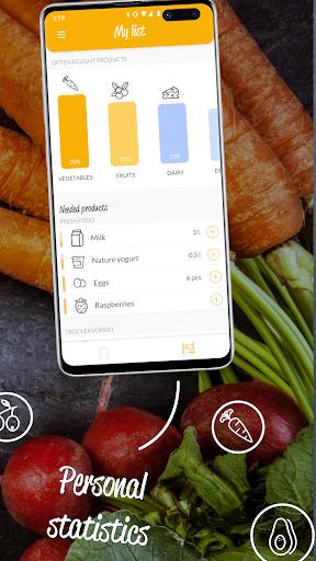 HNGRY - Intelligent shopping list  screenshots 5
