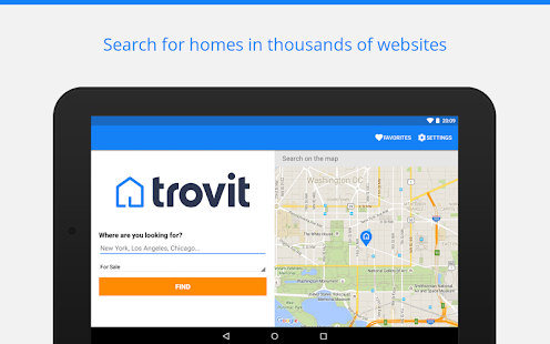 Real Estate sale & rent Trovit Screenshot