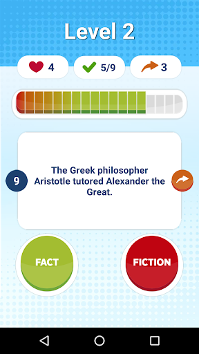Fact Or Fiction - Knowledge Quiz Game Free 1.42 screenshots 2