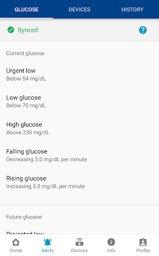 GlucoMen Day CGM: Real-Time Glucose Monitoring 1.5.0 Screenshots 4