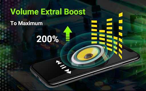 Volume booster - Sound Booster & Music Equalizer android2mod screenshots 1
