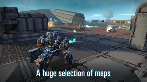 Robots VS Tanks: 5v5 Tactical Multiplayer Battles apktram screenshots 8
