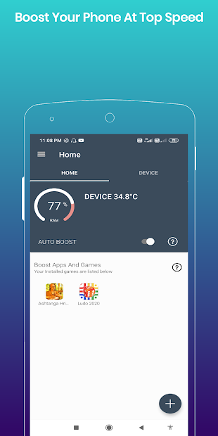 Captura de Pantalla 2 de 80X Game Booster Premium : Faster Performance para android