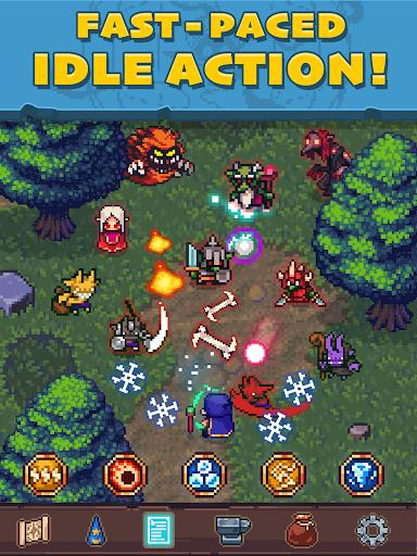 Tap Wizard: Idle Magic Quest 3.1.8 screenshots 9