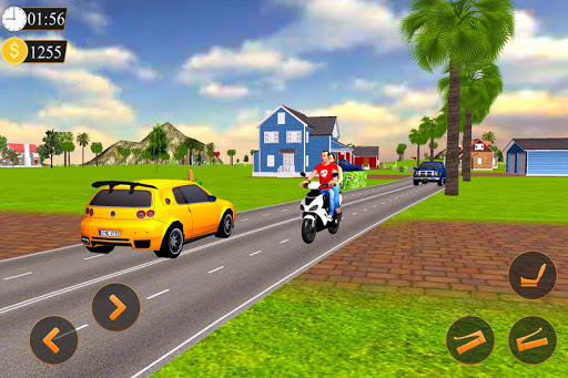 Offroad Bike Taxi Driver: Motorcycle Cab Rider 3.2.1 screenshots 9