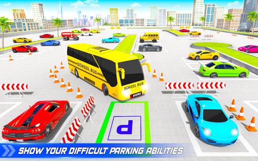 School Bus Driving Simulator Bus Parking Games 20 Screenshots 8