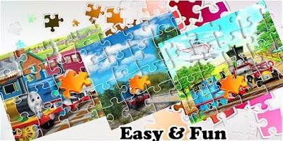 Jigsaw Puzzle Thomas Train Game