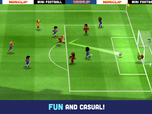 Mini Football - Mobile Soccer android2mod screenshots 8