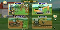 建設車両とトラック-子供向けゲームのおすすめ画像2