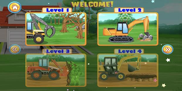 Construction Vehicles & Trucks - Games for Kids 2.0.2 screenshots 2