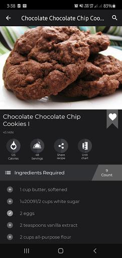 Cookies And Brownies Recipes  Screenshots 6