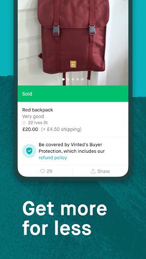 Vinted - sell & buy second-hand fashion Apkfinish screenshots 4
