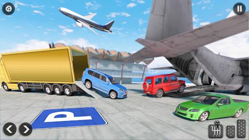 US Army Transporter Plane - Car Transporter Games screenshots 11