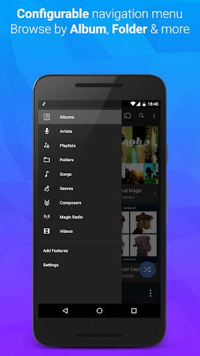 doubleTwist Music & Podcast Player with Sync screenshots 3