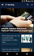 Economic Times Banking Finance screenshot thumbnail