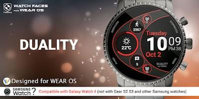 Duality Watch Face & Clock Widget