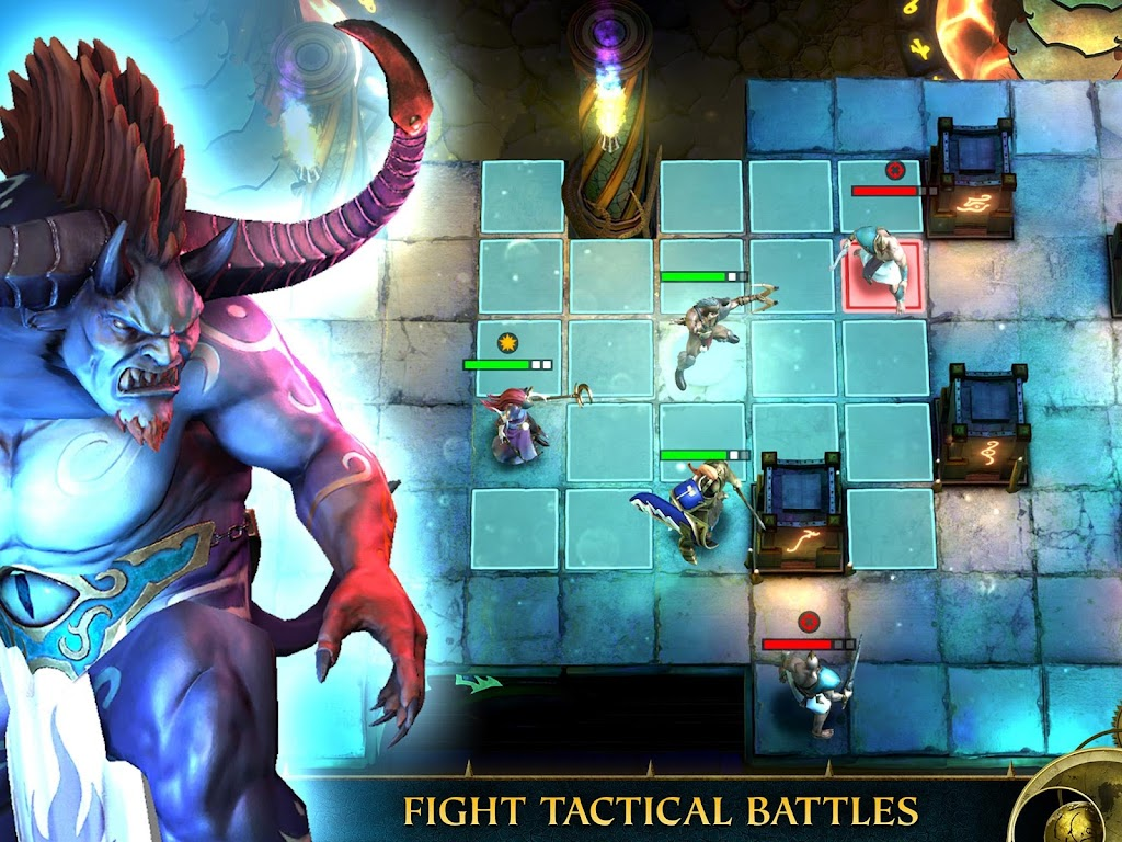 Warhammer Quest: Silver Tower -Turn Based Strategy poster 16