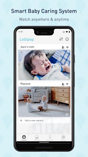Lollipop - Smart baby monitor 3.7.2 screenshots 1