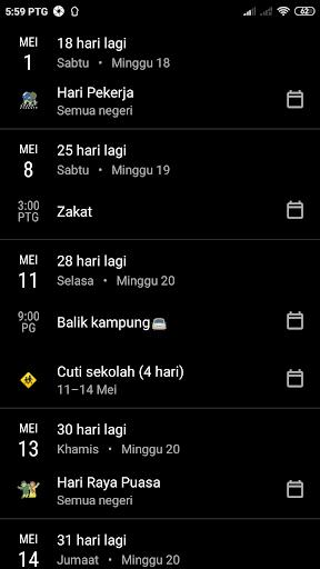 Kalendar Malaysia - Holidays & memo reminder apktram screenshots 5