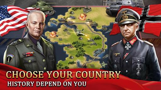 World War 2: WW2 Grand Strategy Games Simulator 1.0.5 screenshots 2