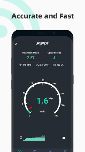 Internet speed test Meter- SpeedTest Master android2mod screenshots 1