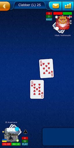 clabber livegames - free online card game screenshot 2