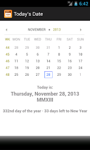 Today's Date  Apps For Pc – Free Download For Windows And Mac 1