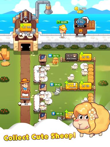 Sheep Farm : Idle Games & Tycoon screenshots 10